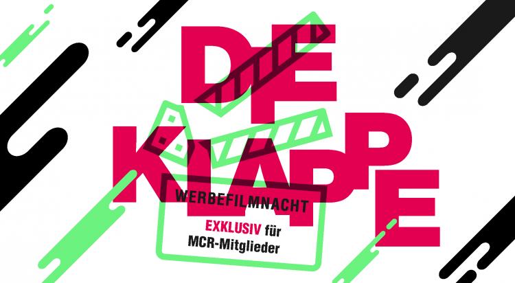 """Werbefilmnacht """"Die Klappe und PR-Klappe 2020"""""""