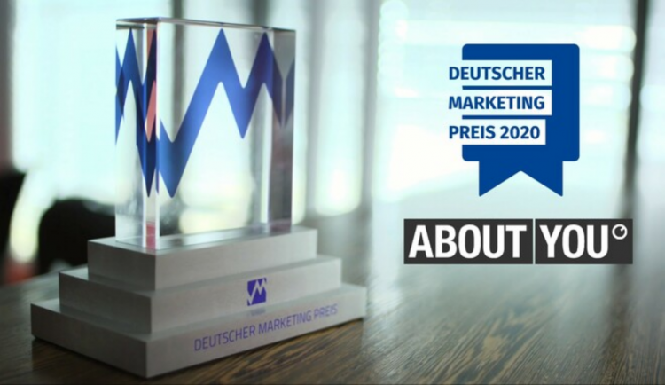 Deutscher Marketing Preis 2020 – ABOUT YOU